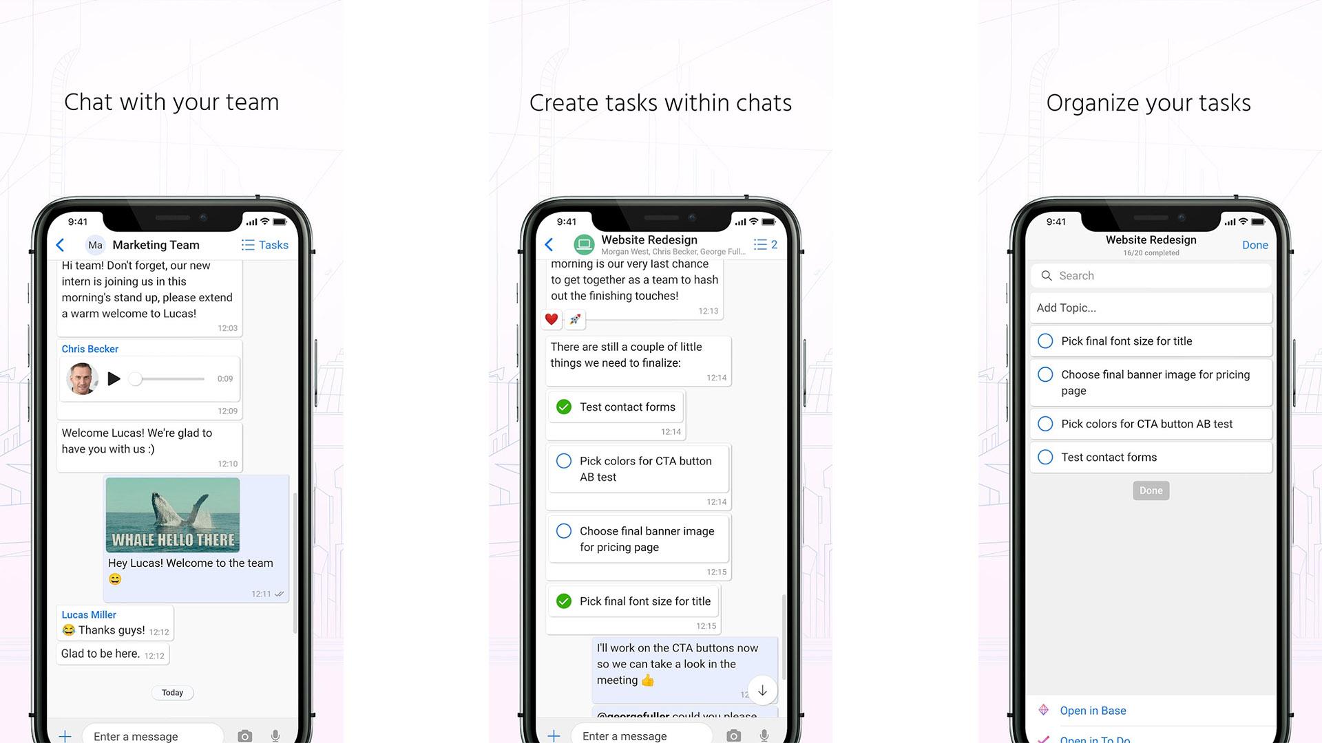 Zenchat screenshot