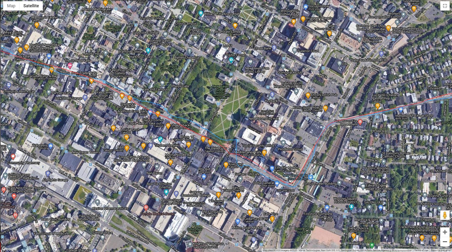 Zepp Z Review GPS Data 1