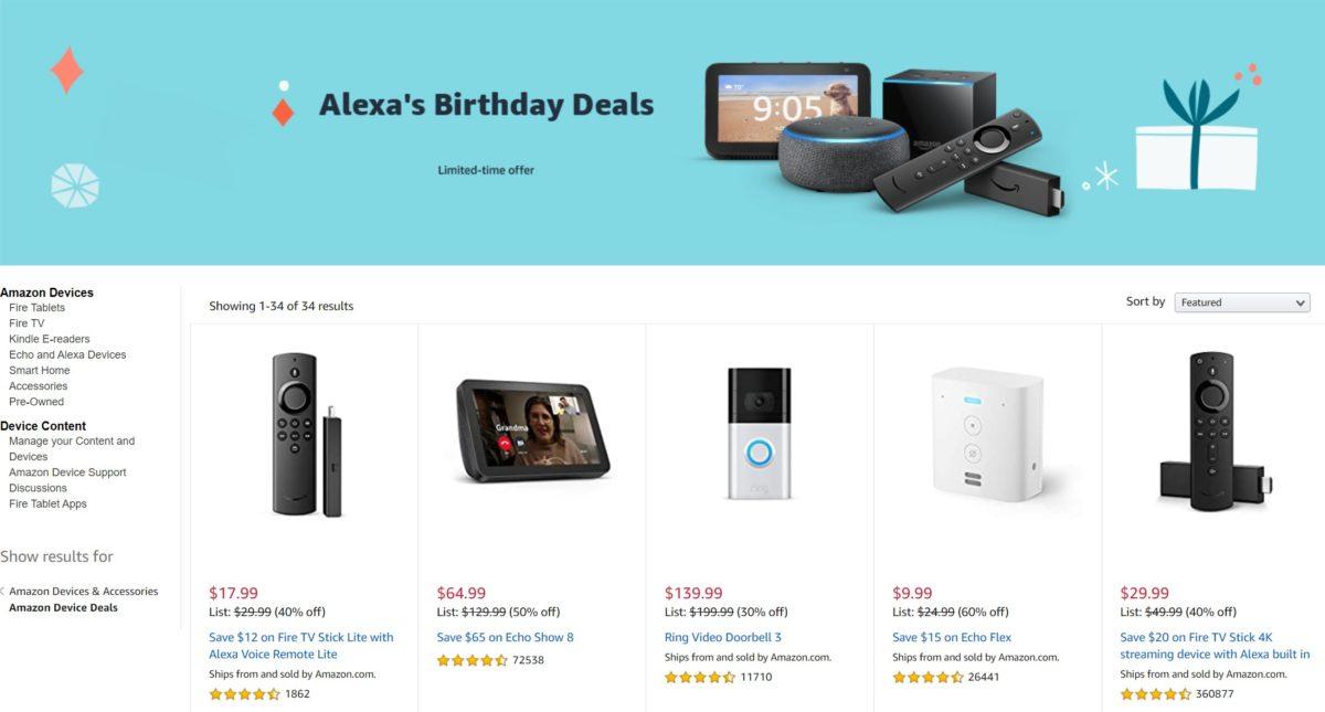 alexas birthday deals