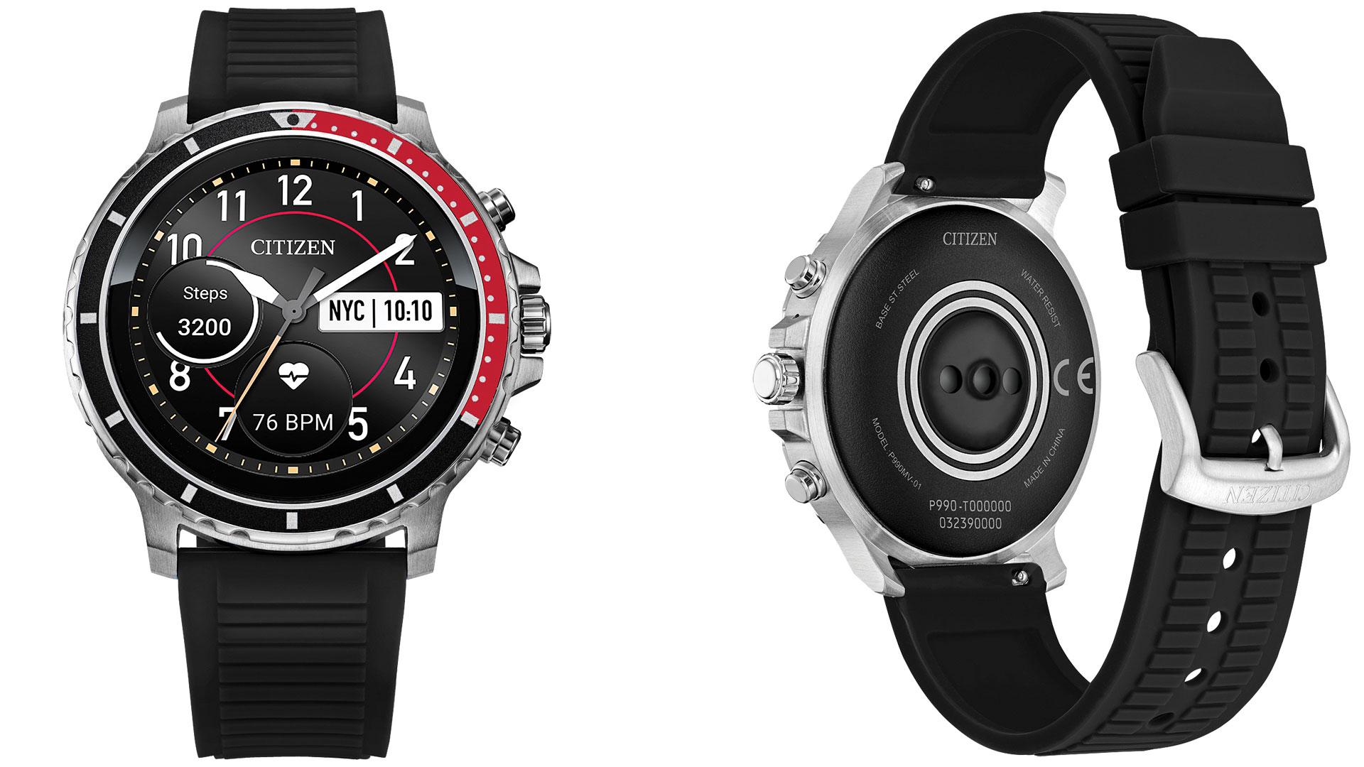 citizen cz smart wear os smartwatch
