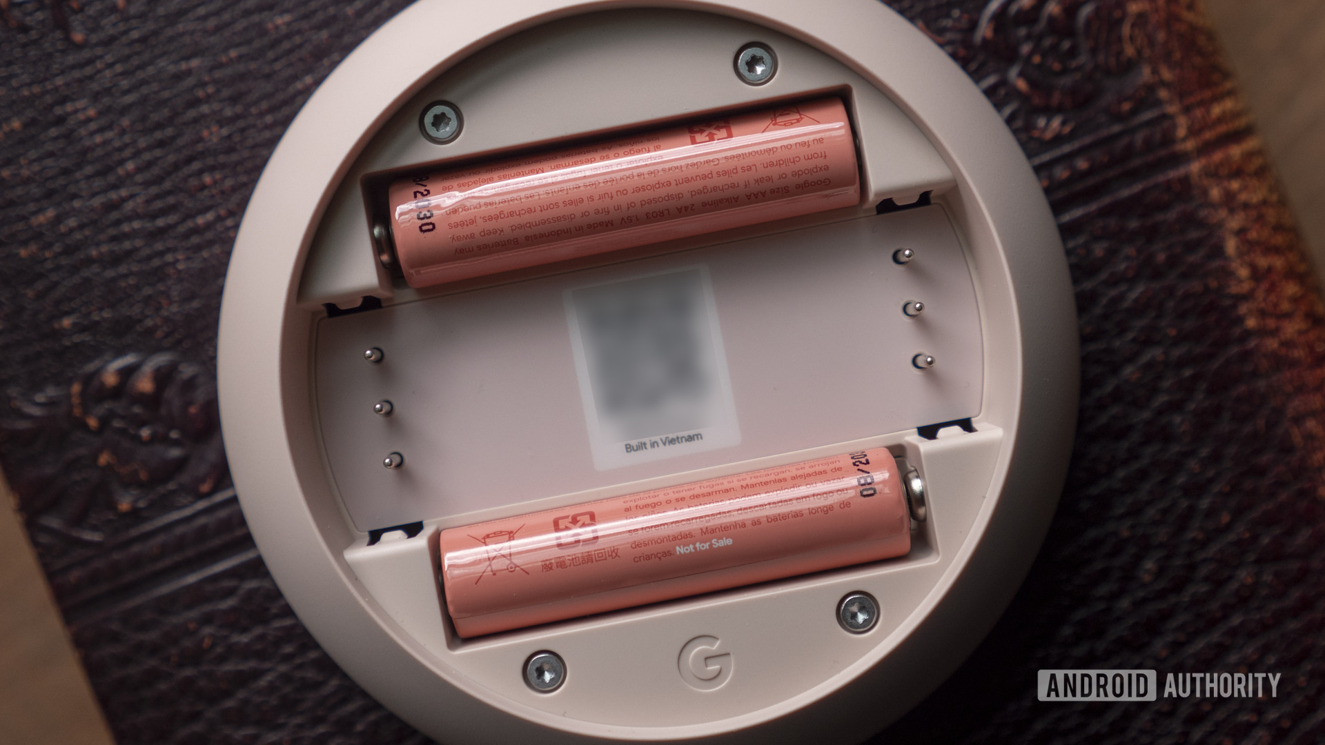 google nest thermostat review batteries QR code