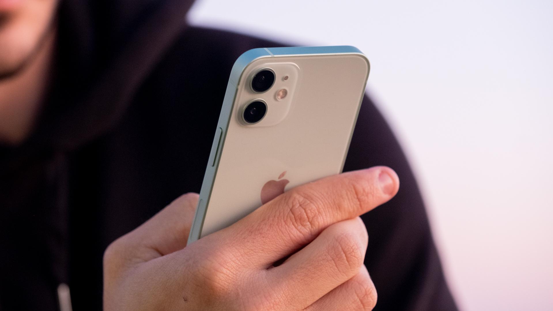 iPhone 12 Mini back in hand 2