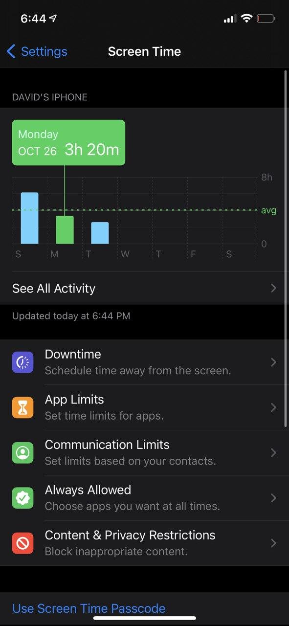 iPhone 12 Pro Battery screenshot 1