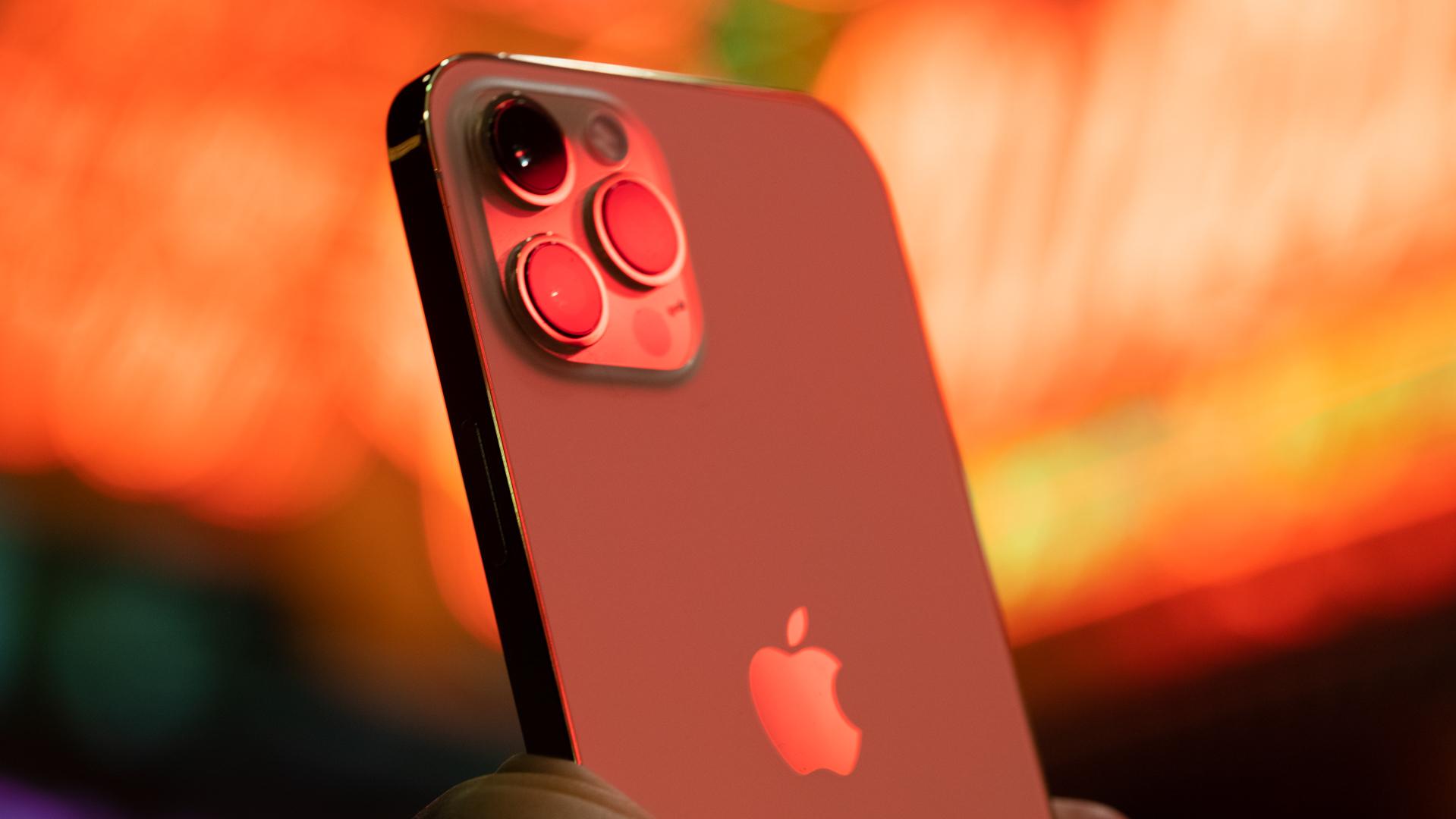 iPhone 12 Pro Max neon camera macro 2