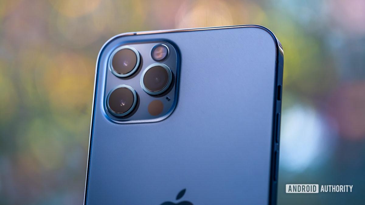 iPhone 12 Pro back cameras macro