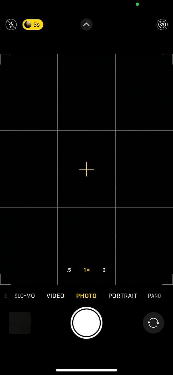 iPhone 12 Pro camera app 1