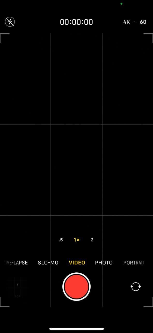 iPhone 12 Pro camera app 2