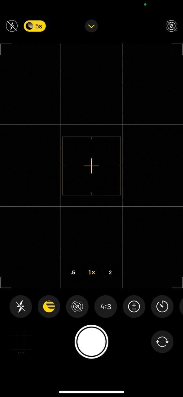 iPhone 12 Pro camera app 3