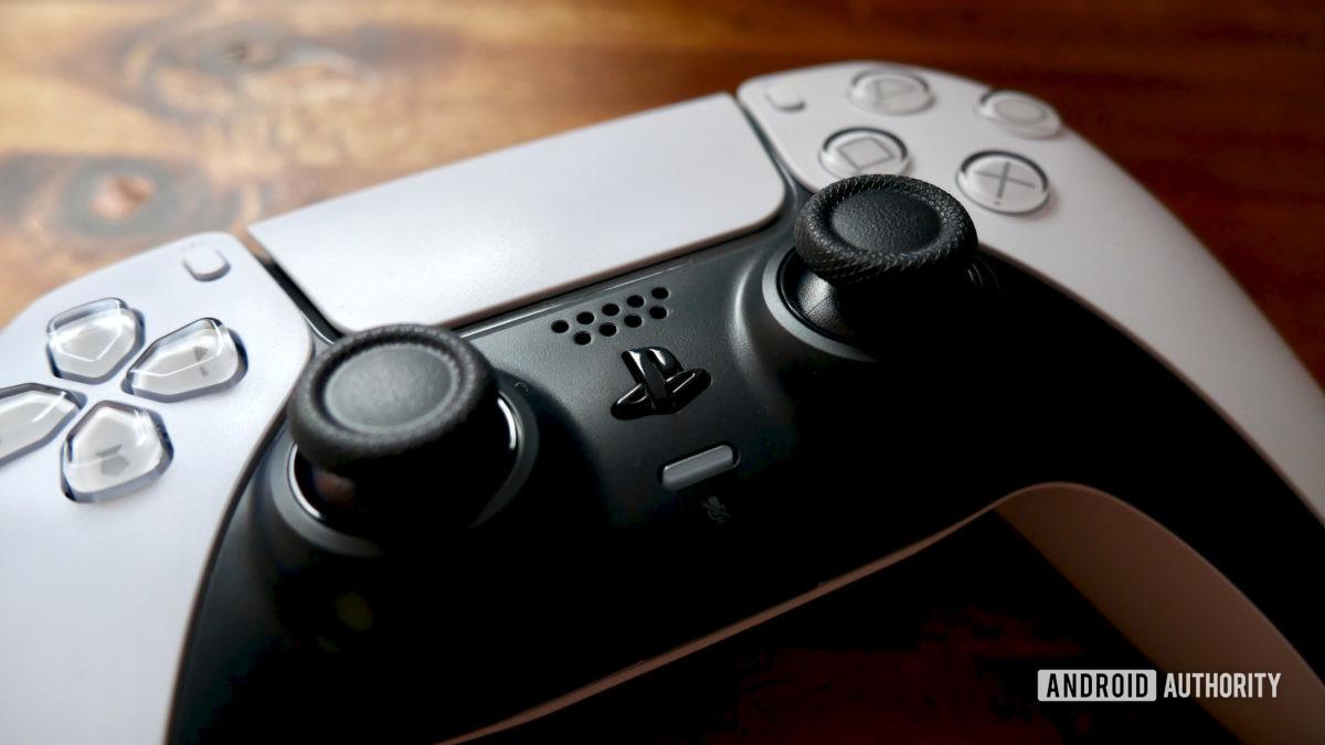 ps5 dualsense controller front