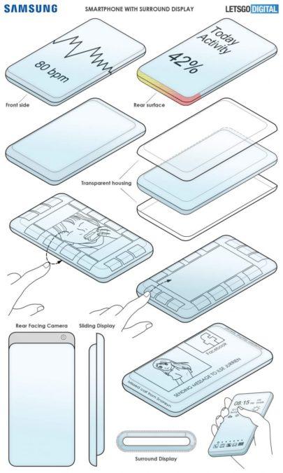 samsung sliding phone design 1
