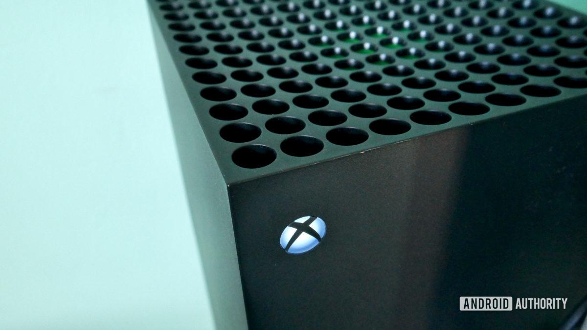 xbox series x review top logo