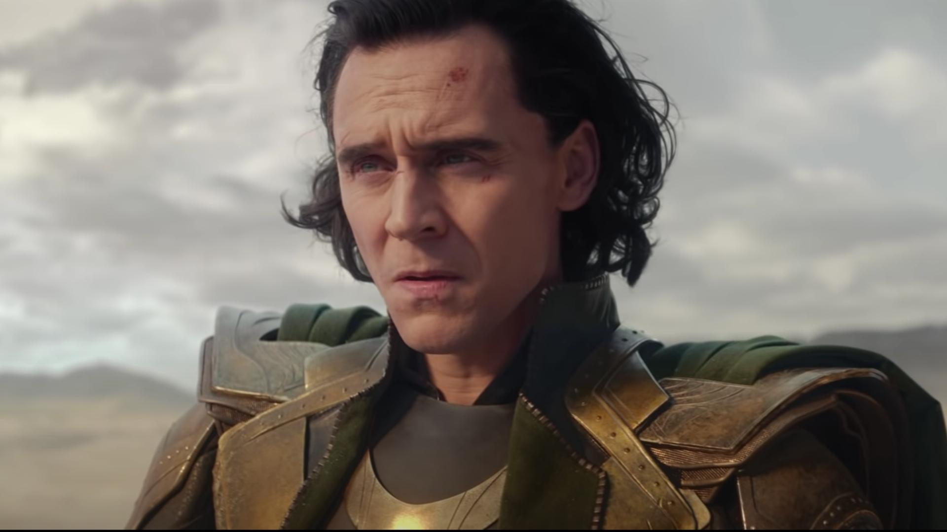 A still from Loki Trailer