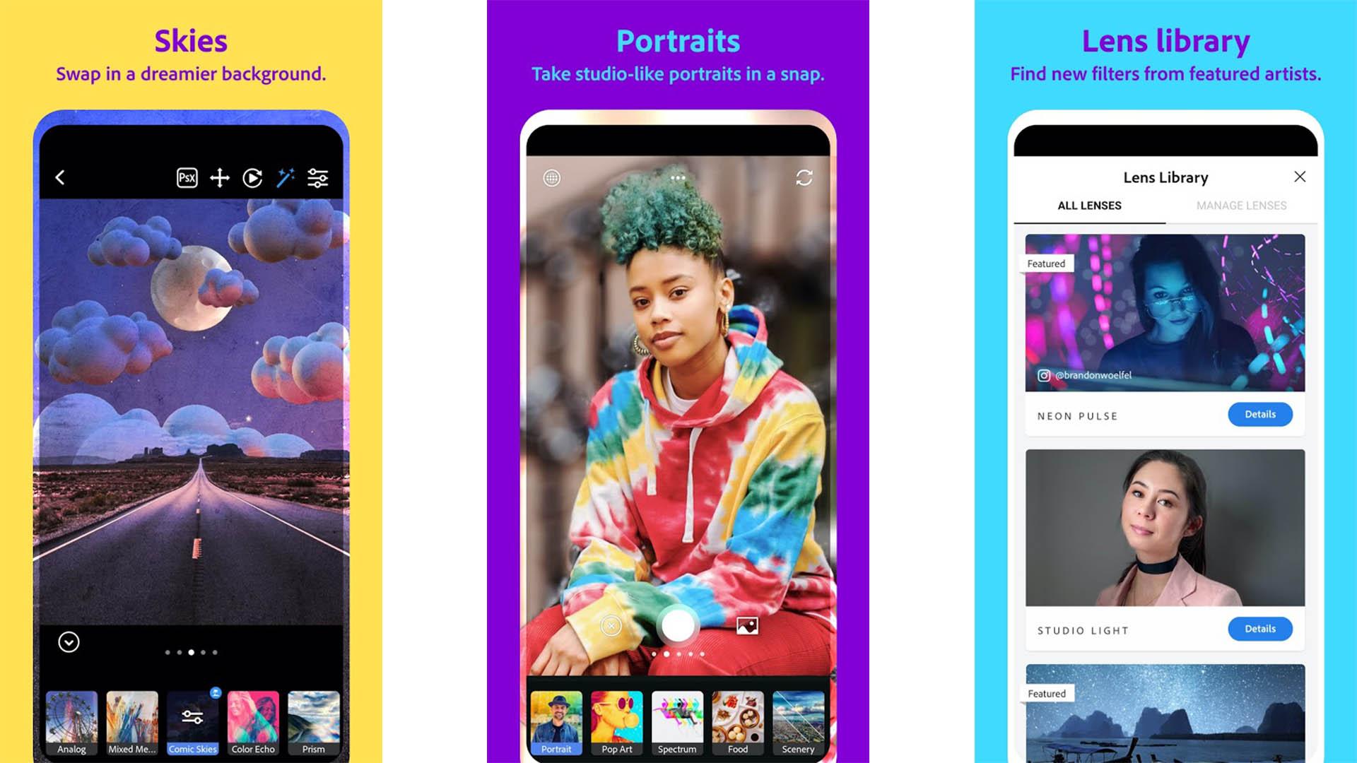 Adobe Photoshop Camera screenshot
