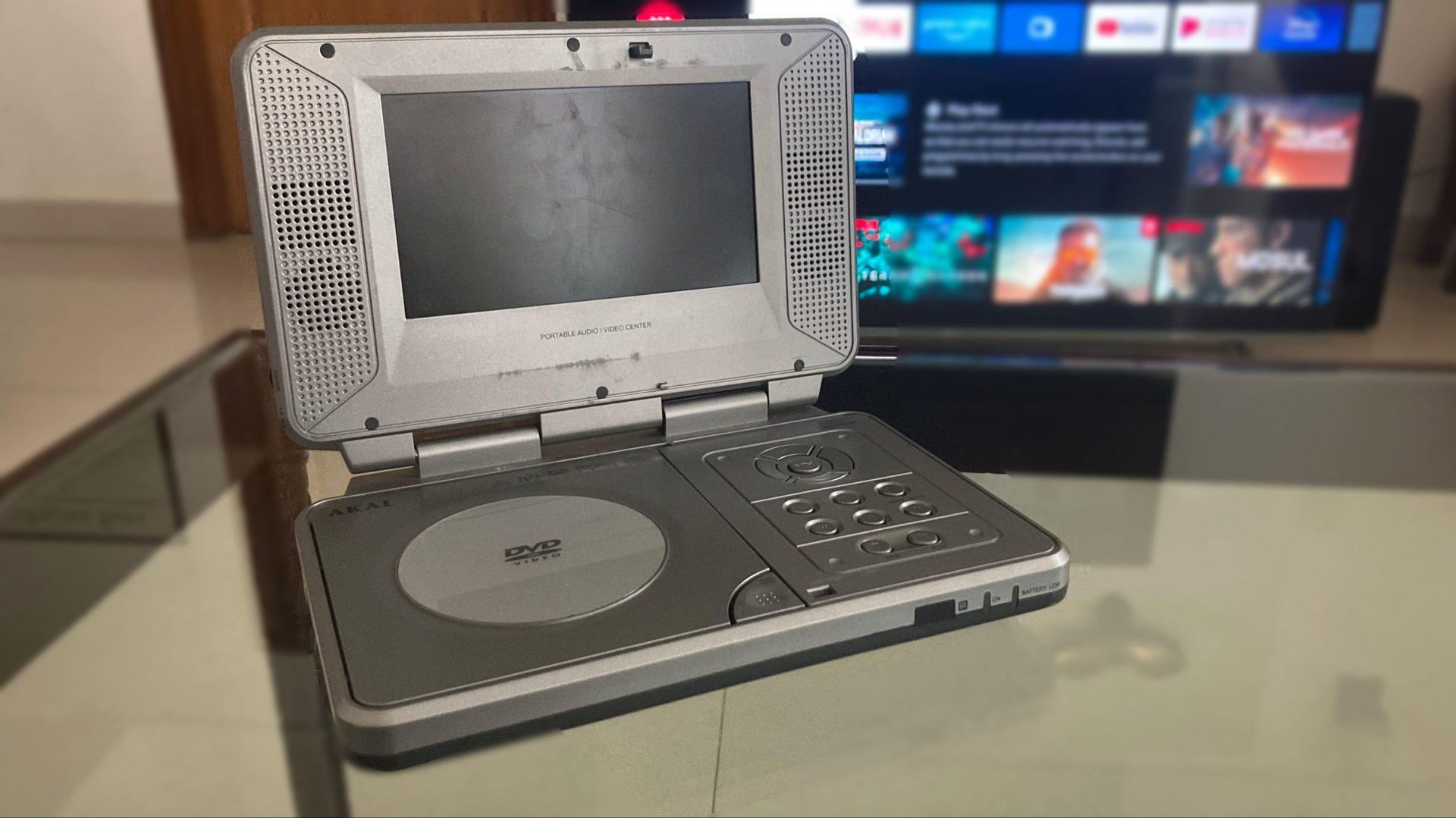 Akai portable video player 1