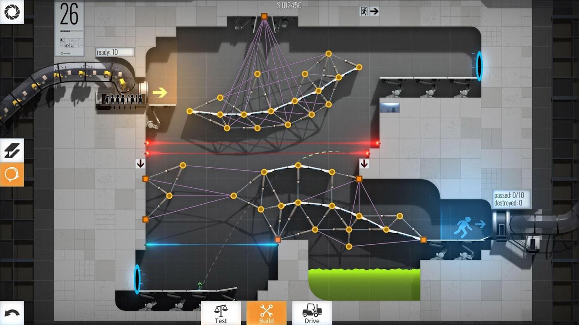 Bridge Constructor Portal best Chromebook games