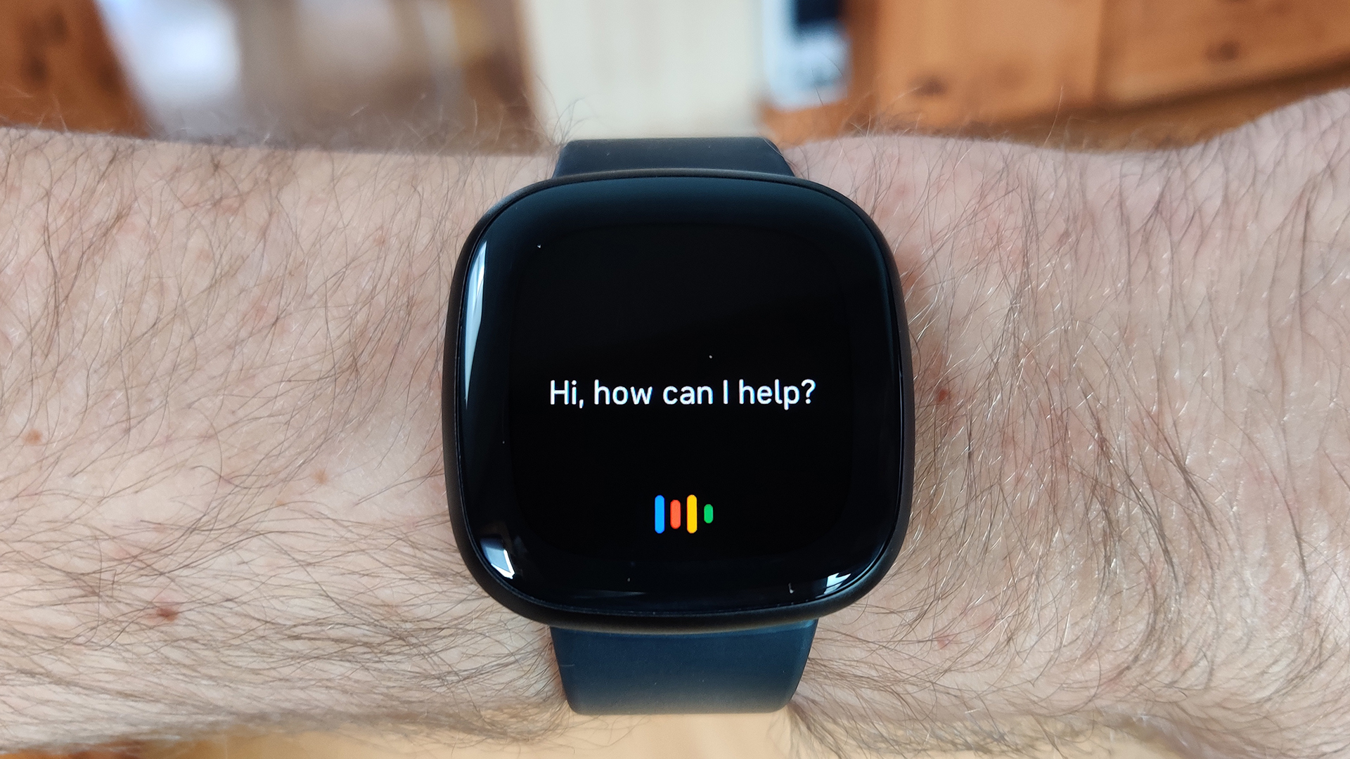 Fitbit Versa 3 Review Google Assistant Prompt