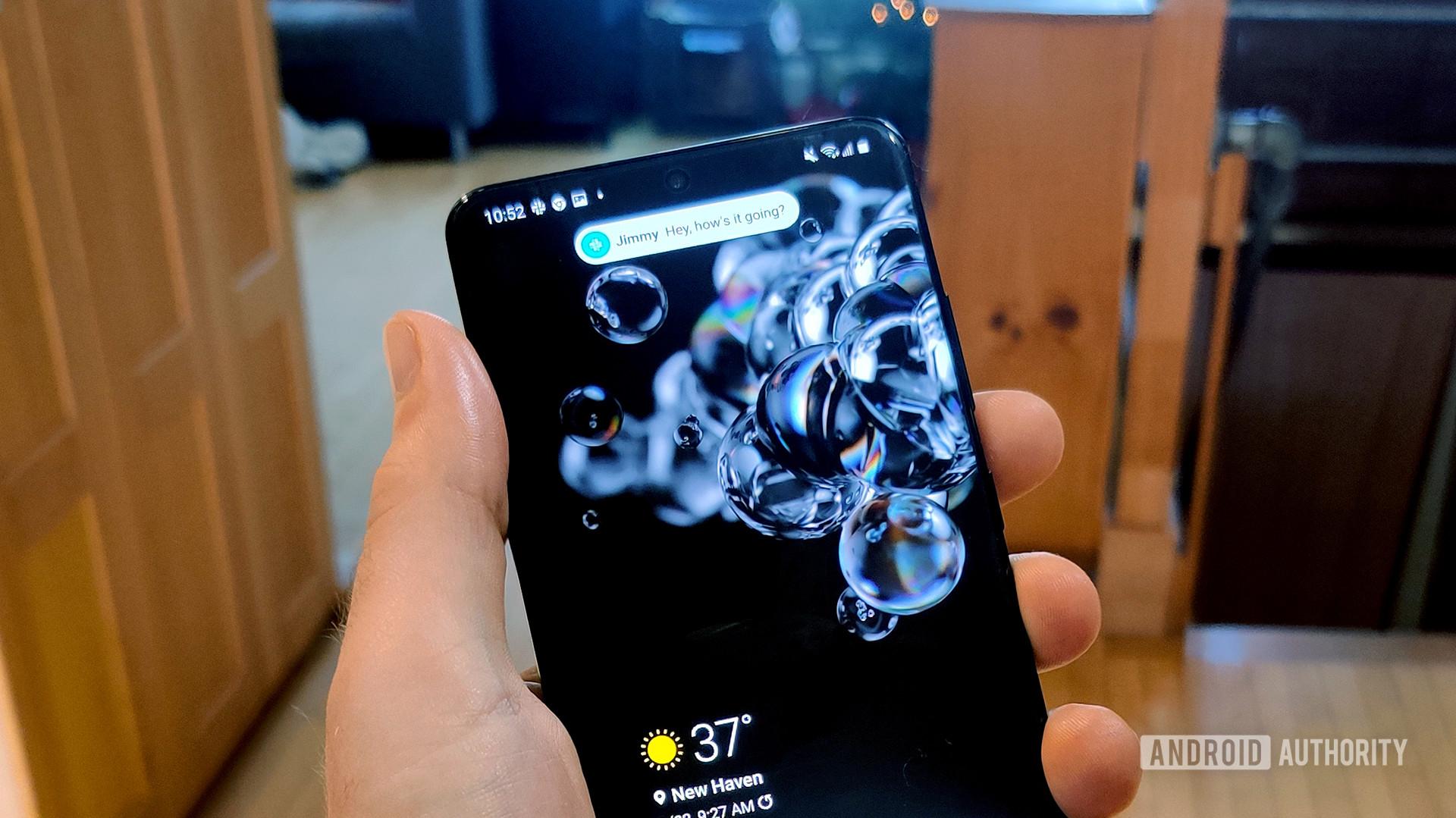 One UI 3.0 Features Alert