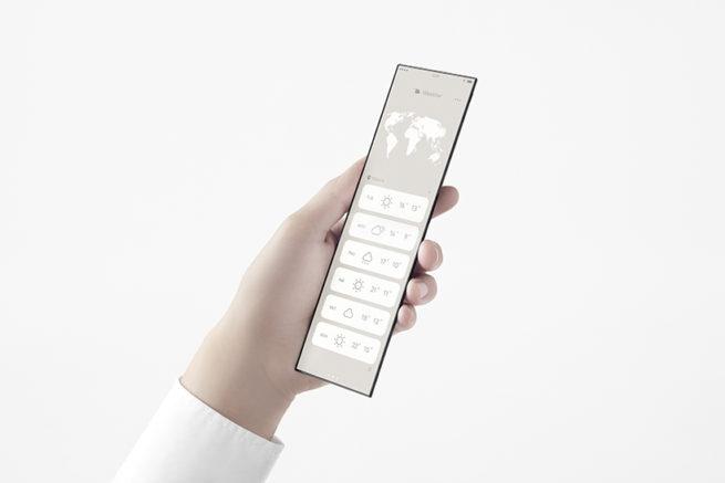 Oppo slide phone concept 5
