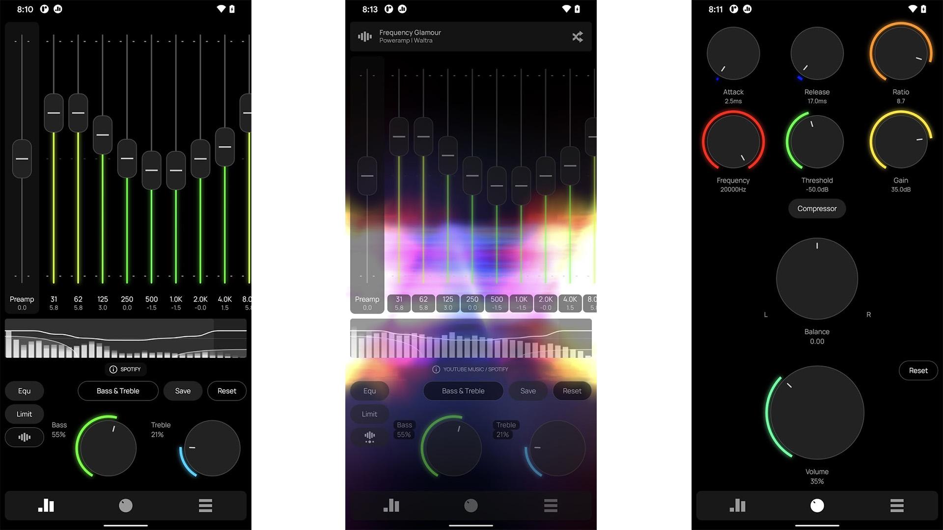 Poweramp Equalizer screenshot