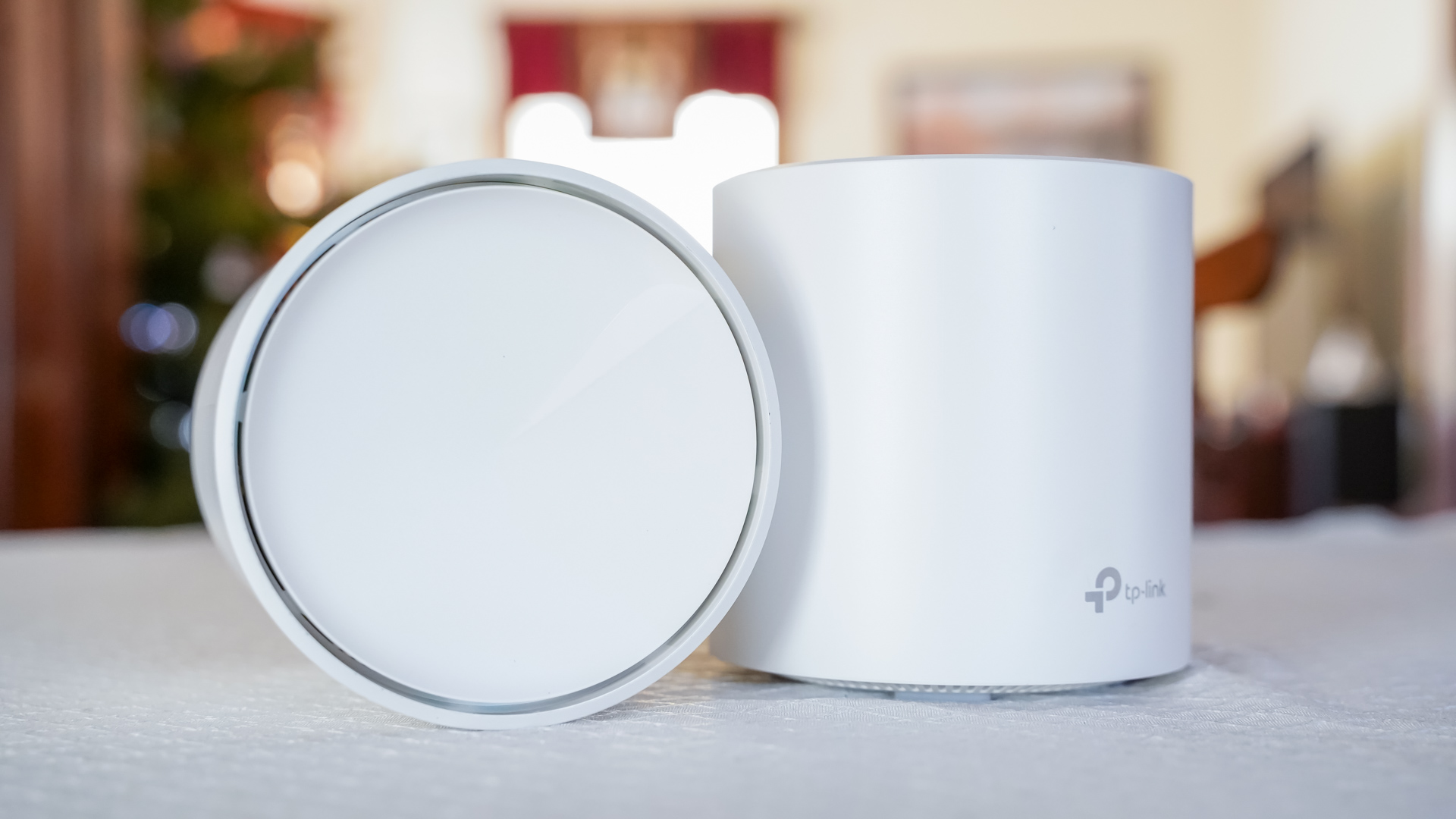 TP Link Deco X60 AX3000 Mesh WiFi System top side