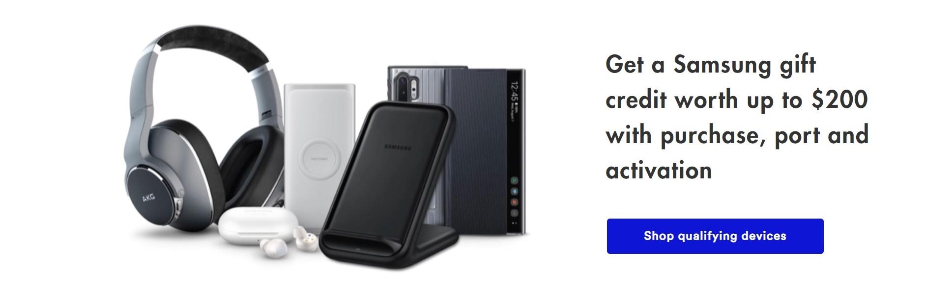 Visible Samsung Gift Credit