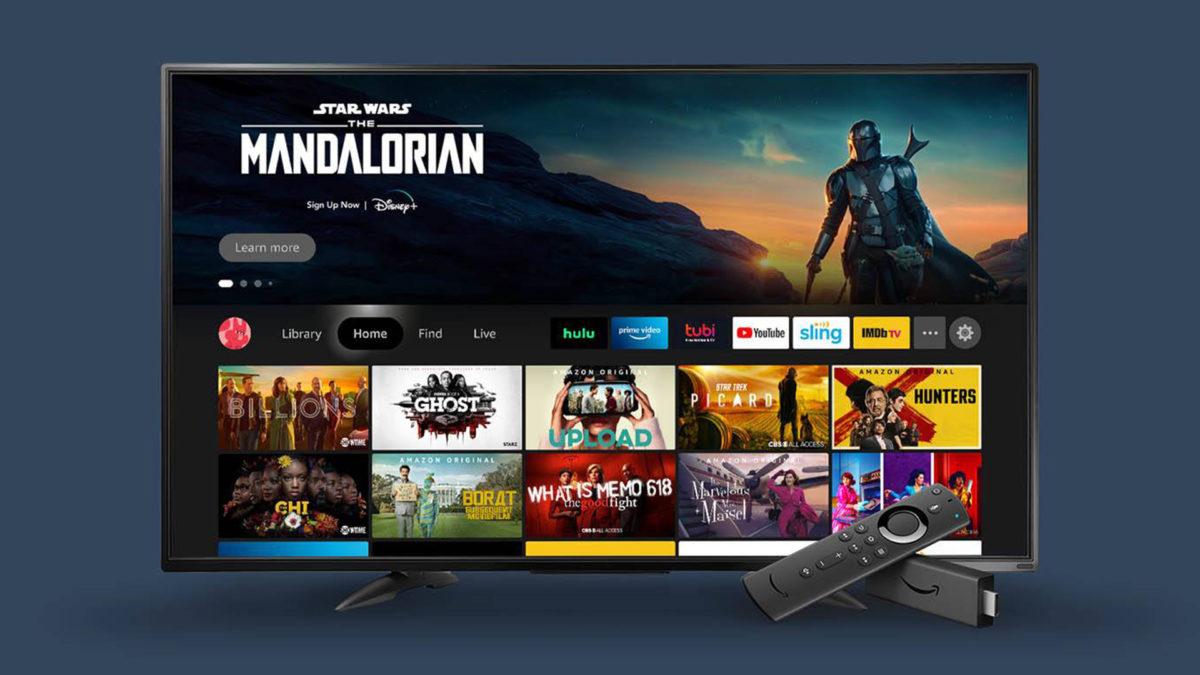 rediseño de la interfaz de amazon fire tv 2020