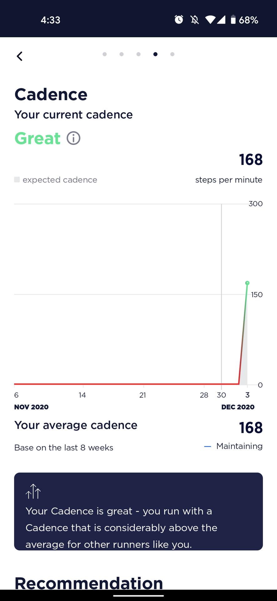 nurvv run review nurvv app running health score cadence