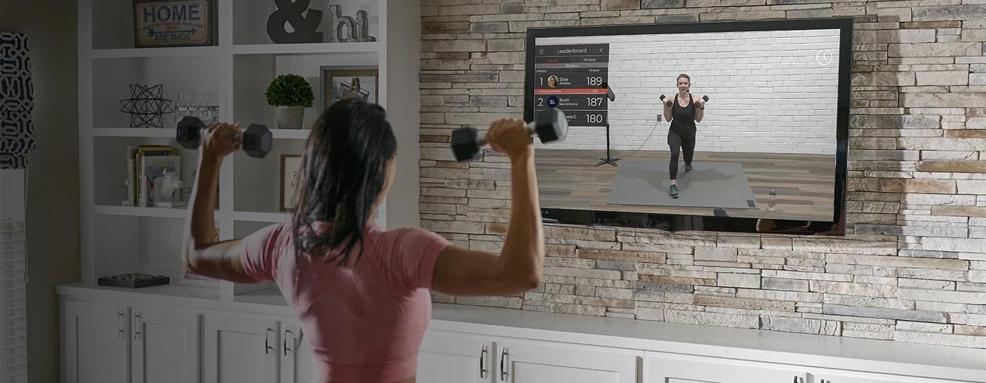 samsung smart tv echelon fitpass
