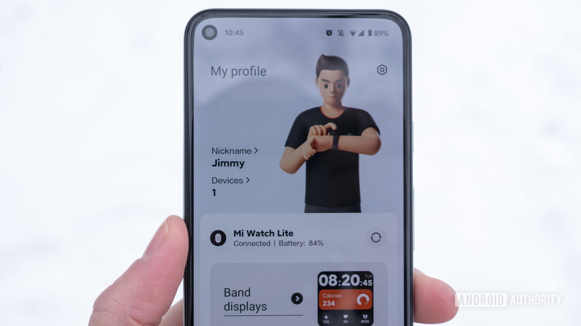 xiaomi mi watch lite review xiaomi wear app home screen