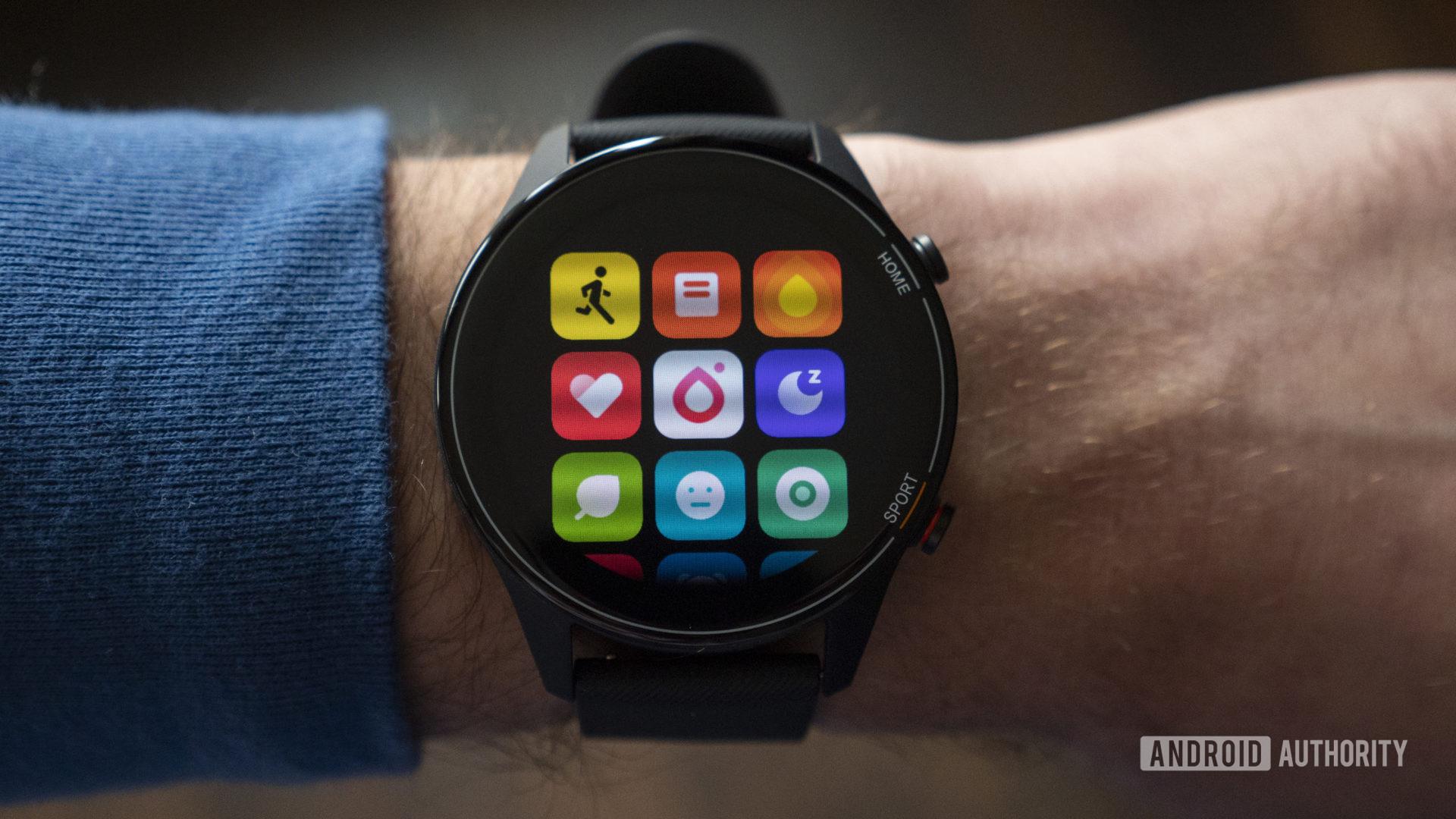 xiaomi mi watch review all apps screen