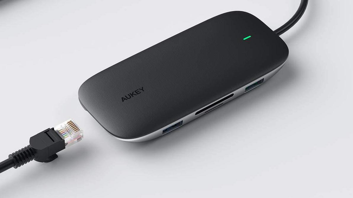Aukey USB C Hun 8 in 1