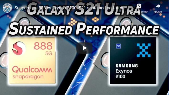 Gary Explains SD 888 vs Exynos 2100 on S21