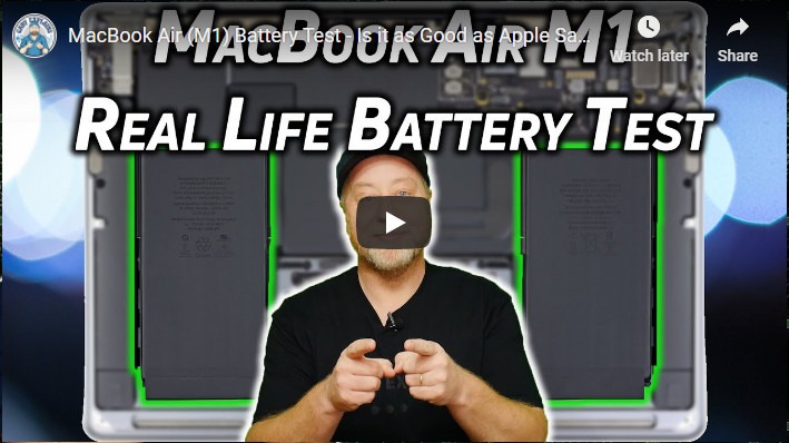 Gary Explains macBook Air M1 battery