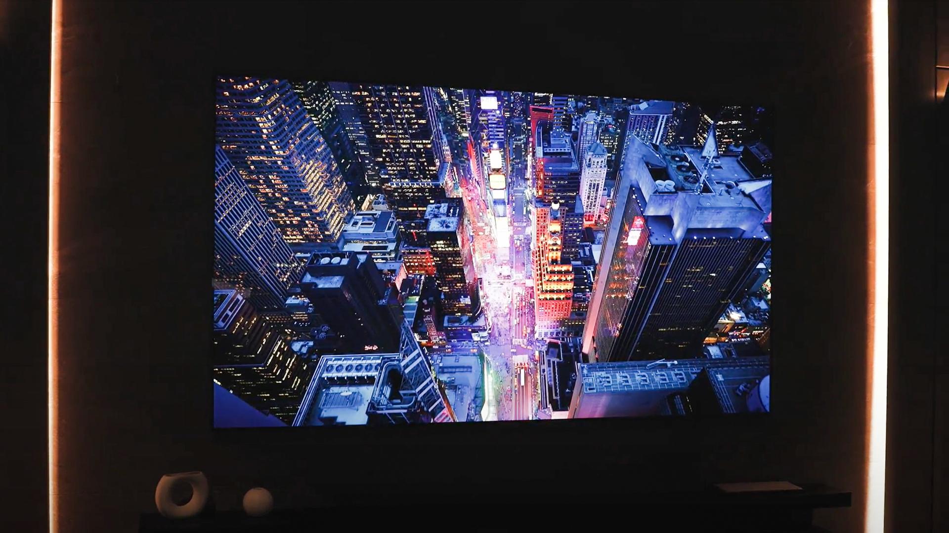 LG 88 inch 8k OLED display 1