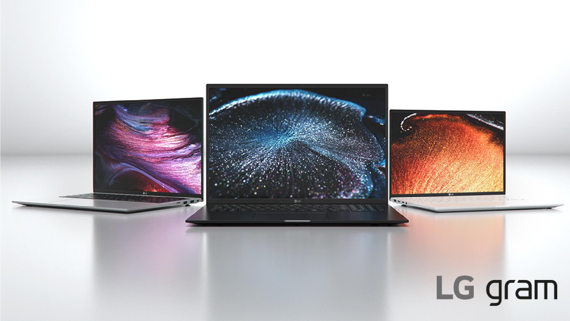 LG Gram 2021 laptops