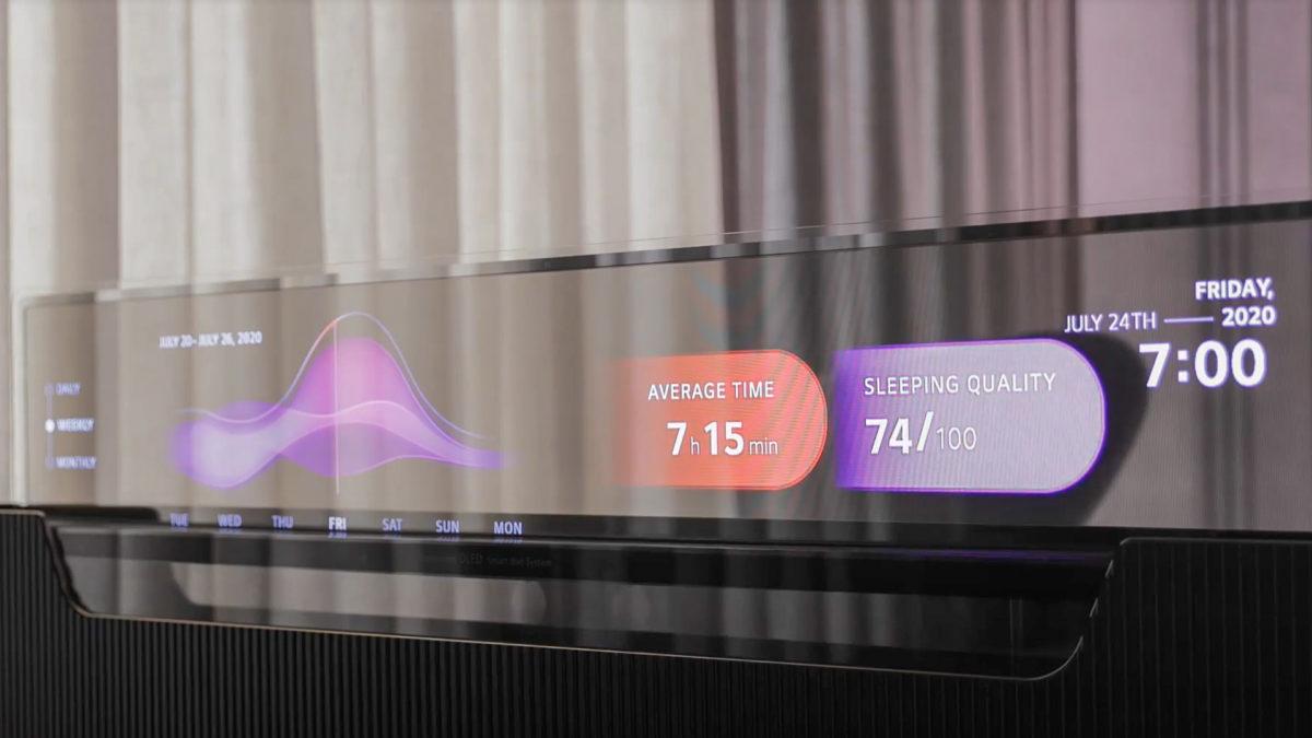 LG Smart Bed CES 2021 1