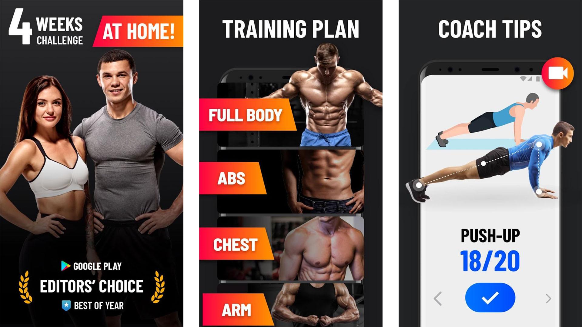Leap Fitness screenshot 2021
