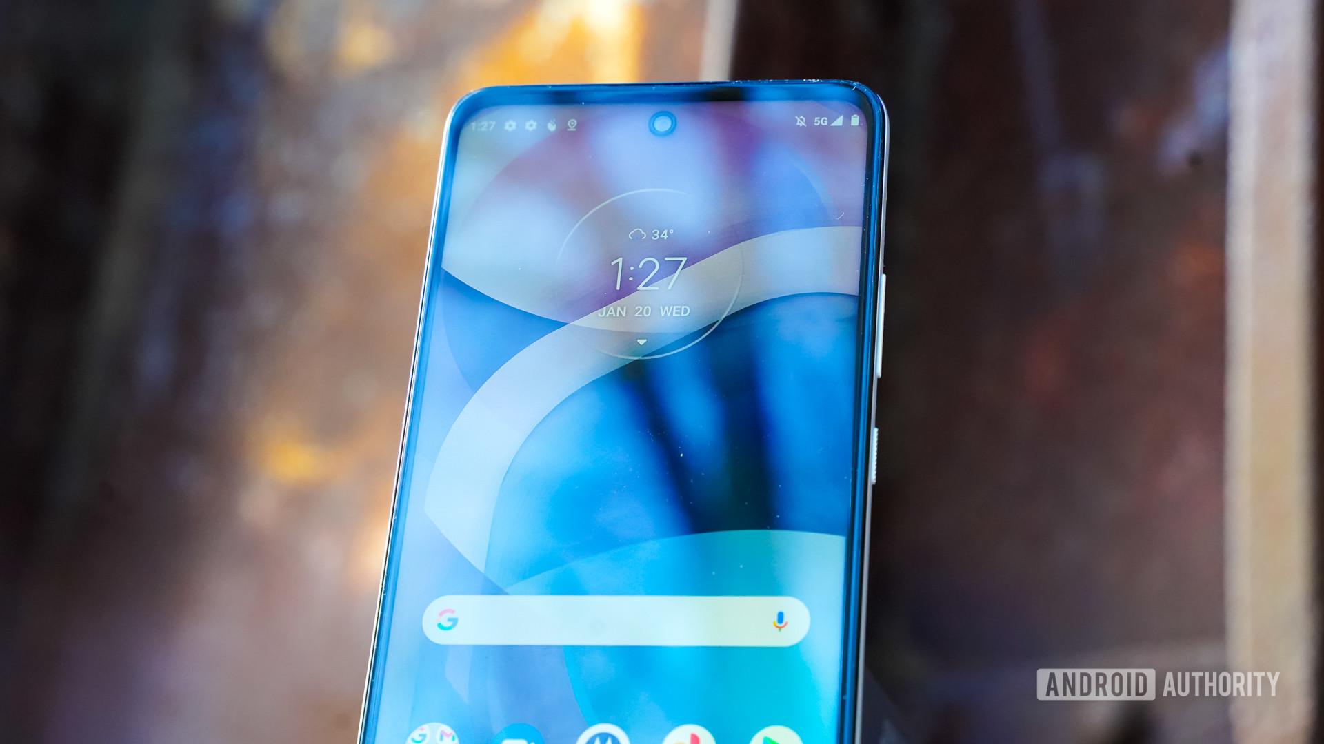 Motorola One 5G Ace display profile