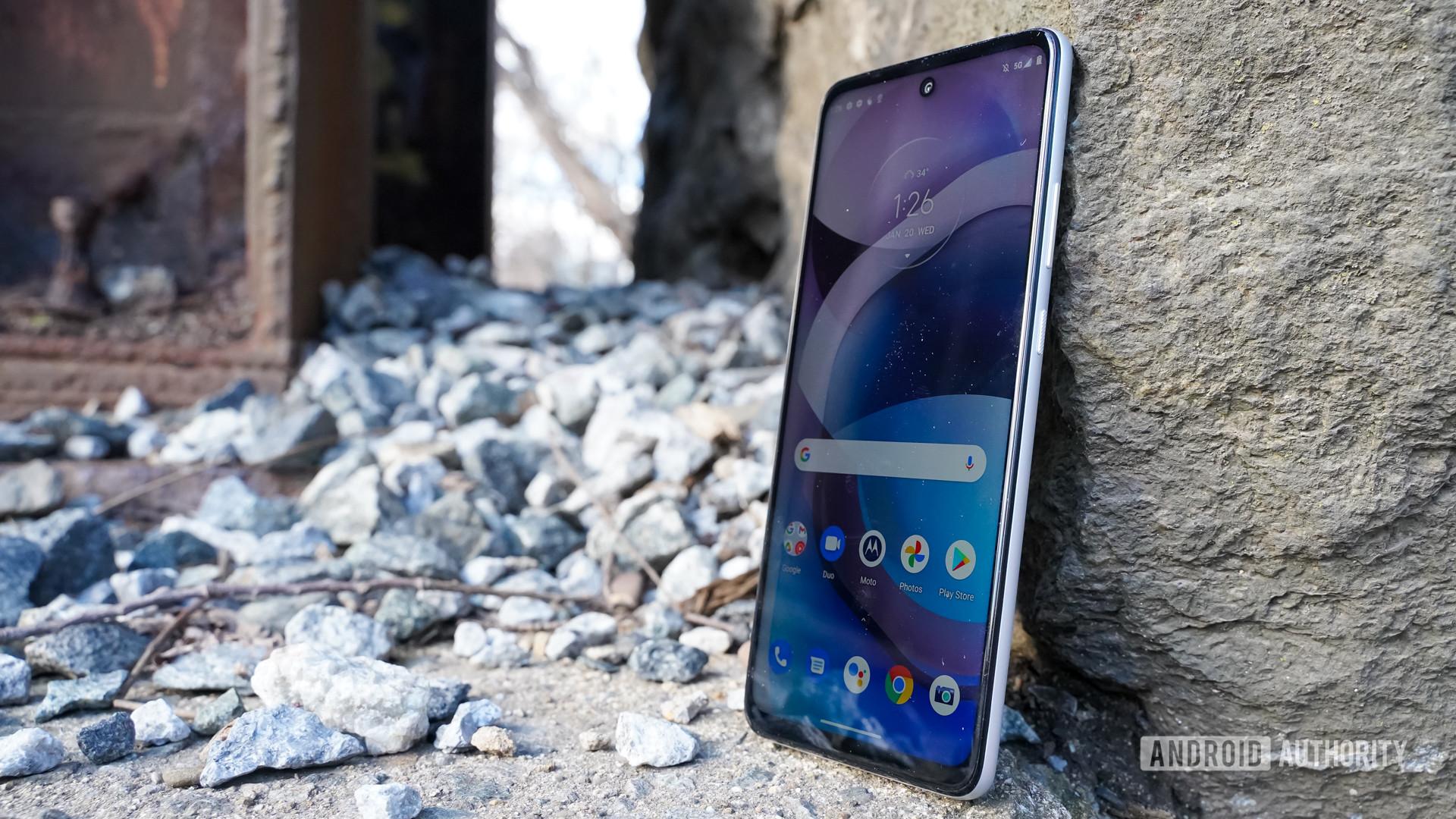 Motorola One 5G Ace right profile