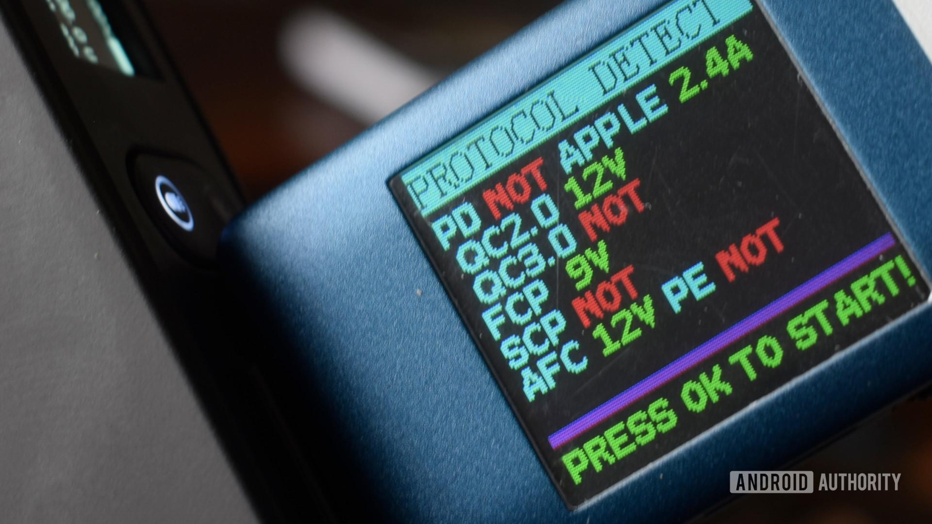 Omni 20 Plus USB A protocols