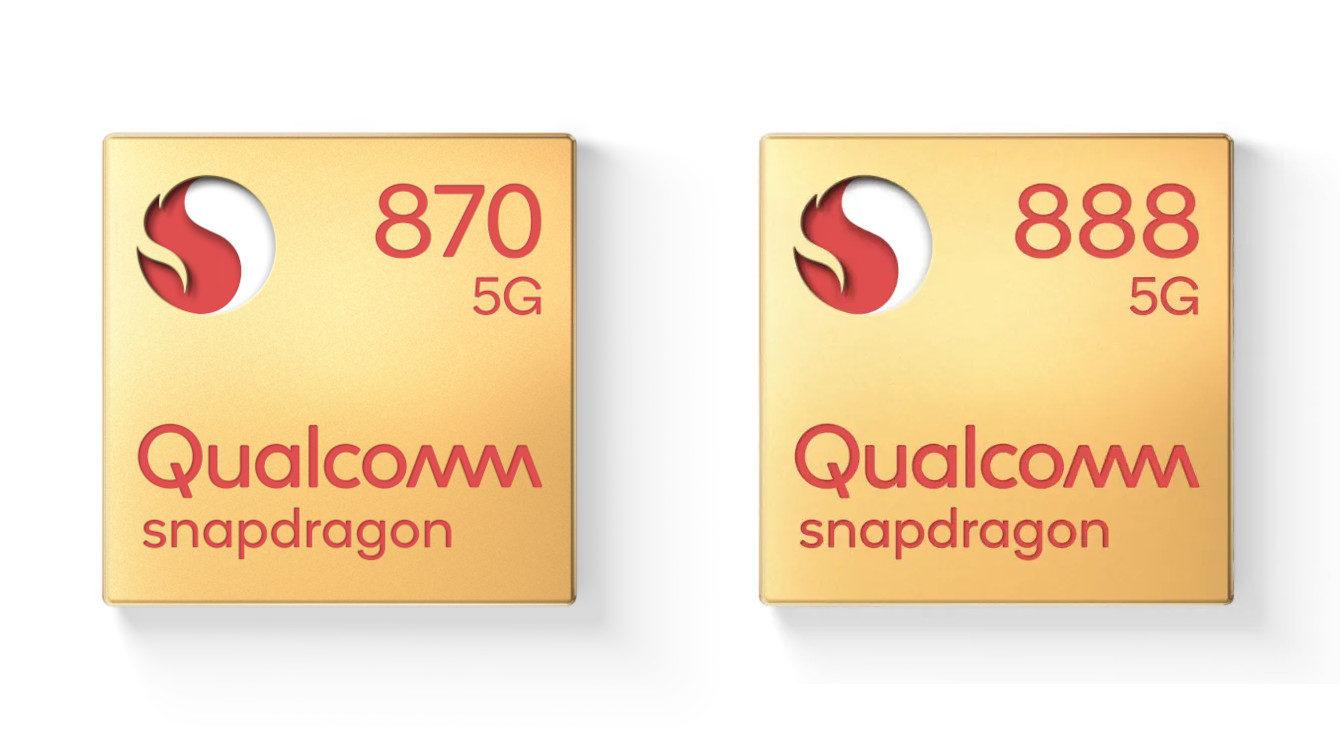 Qualcomm Snapdragon 870 vs Snapdragon 888