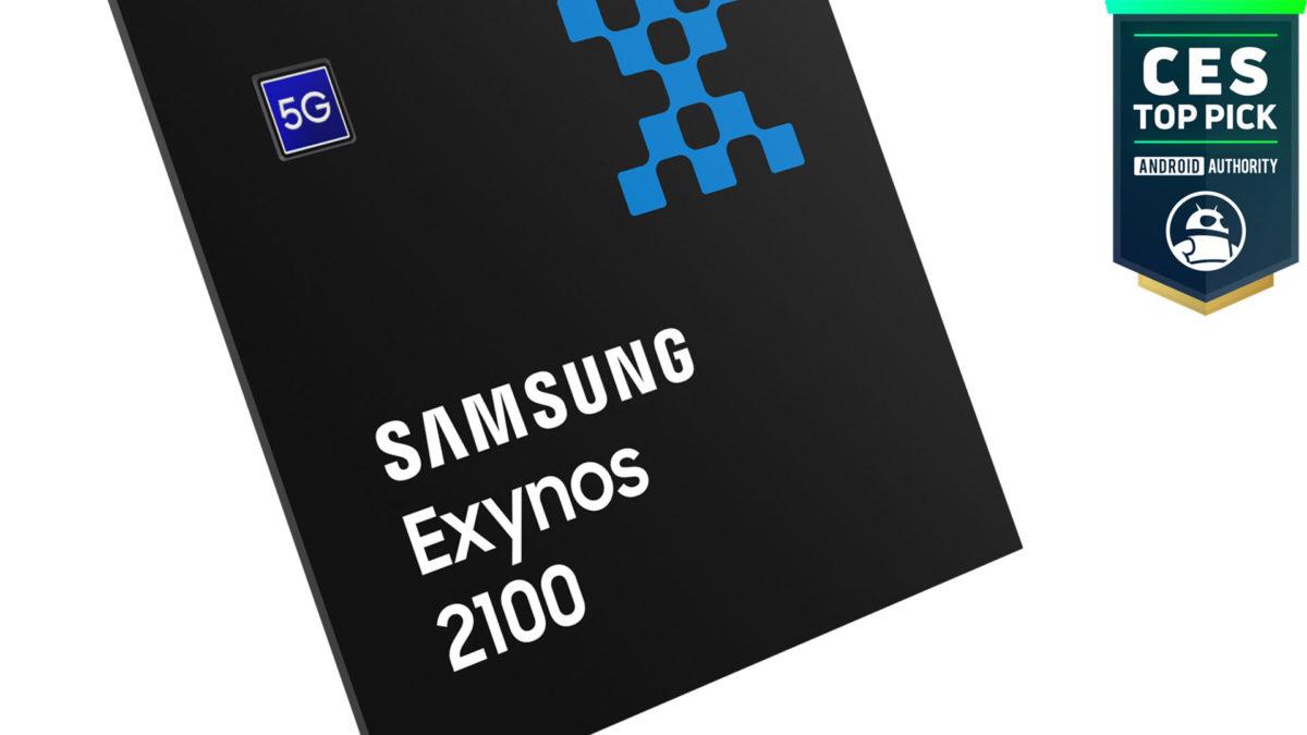Samsung Exynos 2100 CES 2021 Top Pick Award
