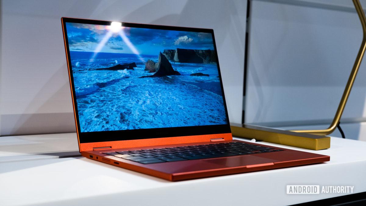 Samsung Galaxy Chromebook 2 side profie 3