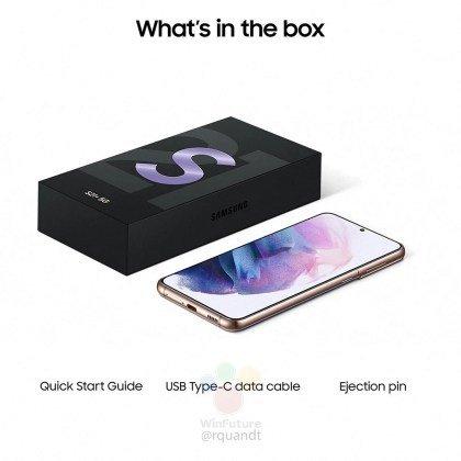 Samsung Galaxy S21 new box