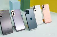 Samsung Galaxy S21 vs iPhone 12 Pro 2