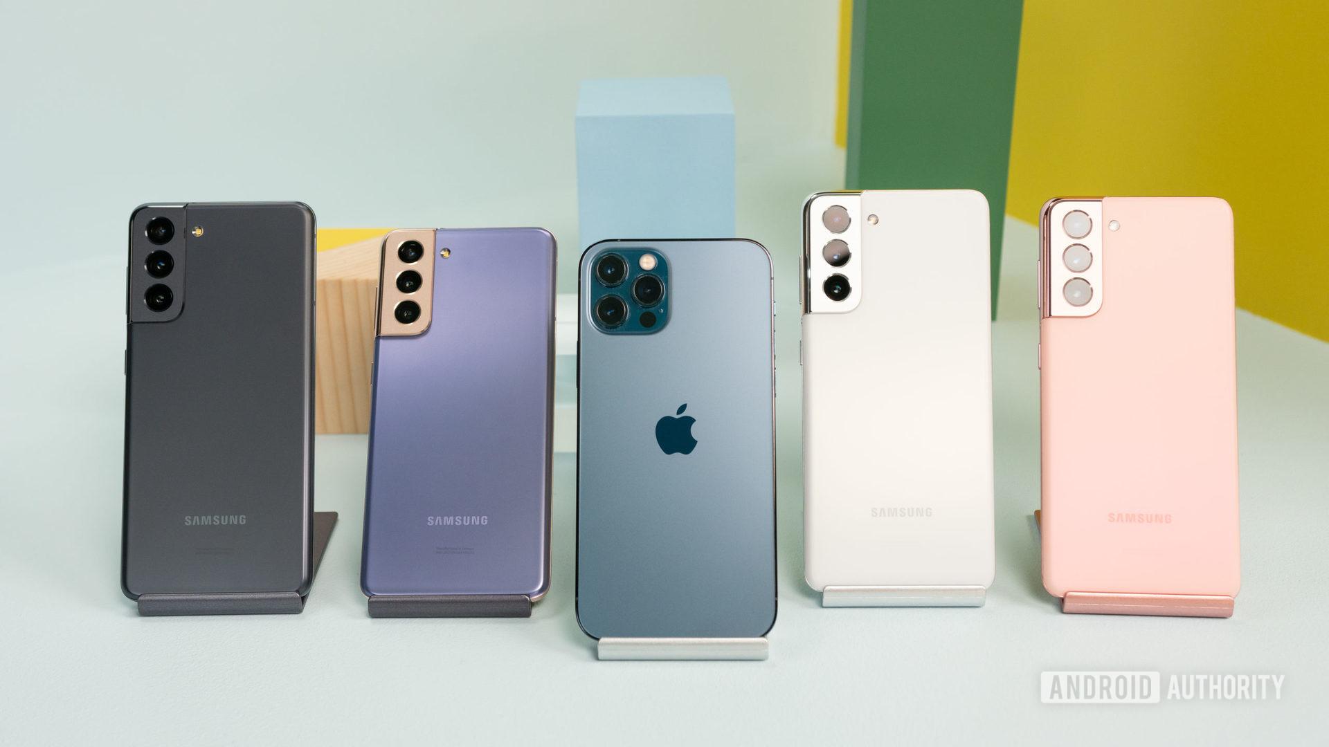 Samsung Galaxy S21 vs iPhone 12 Pro 3