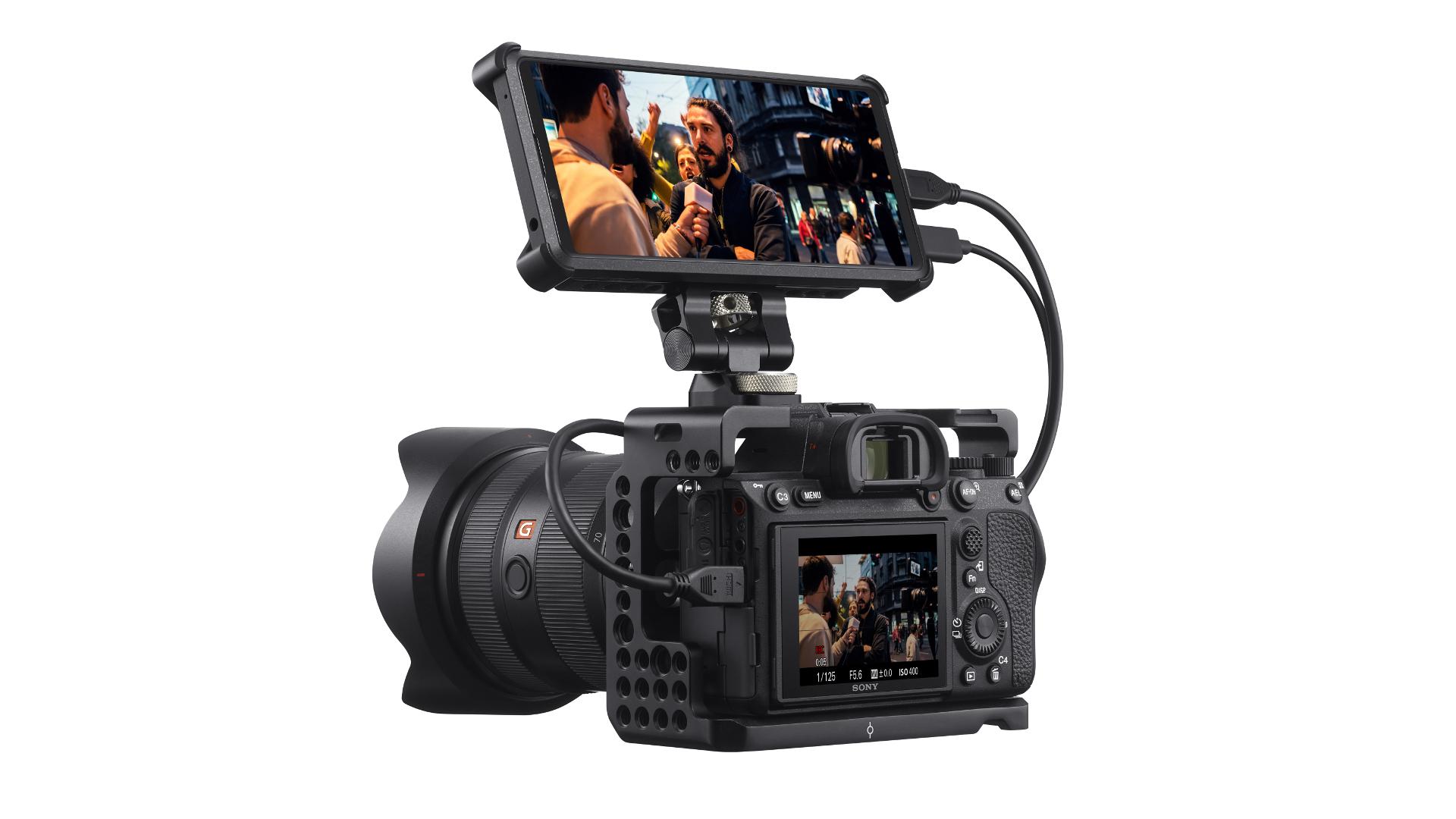 Sony Xperia Pro and camera