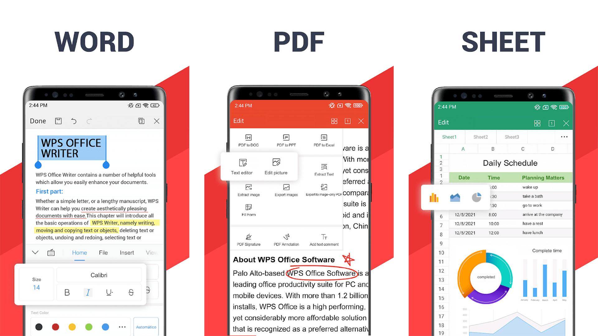 WPS Office screenshot 2021
