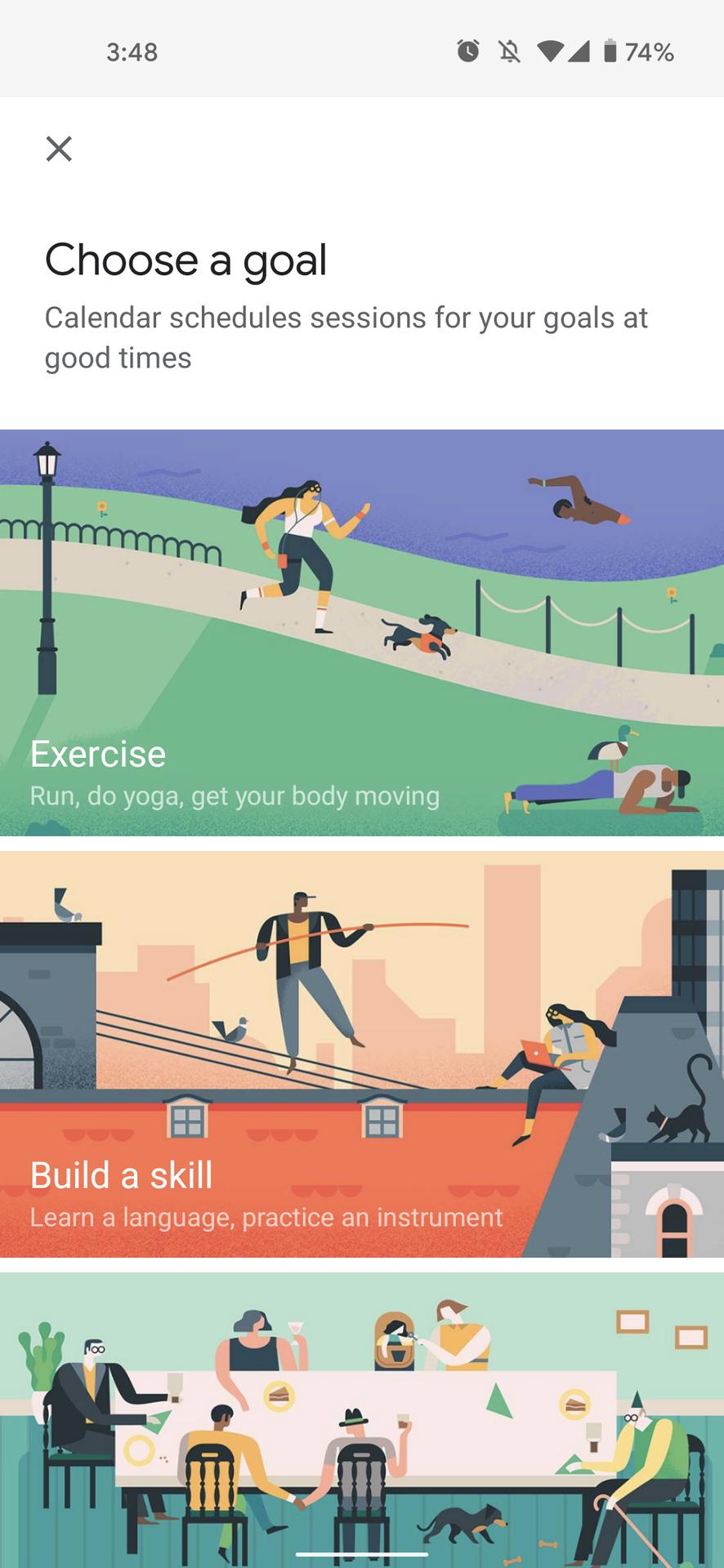 google fit workouts google calendar screenshot 5