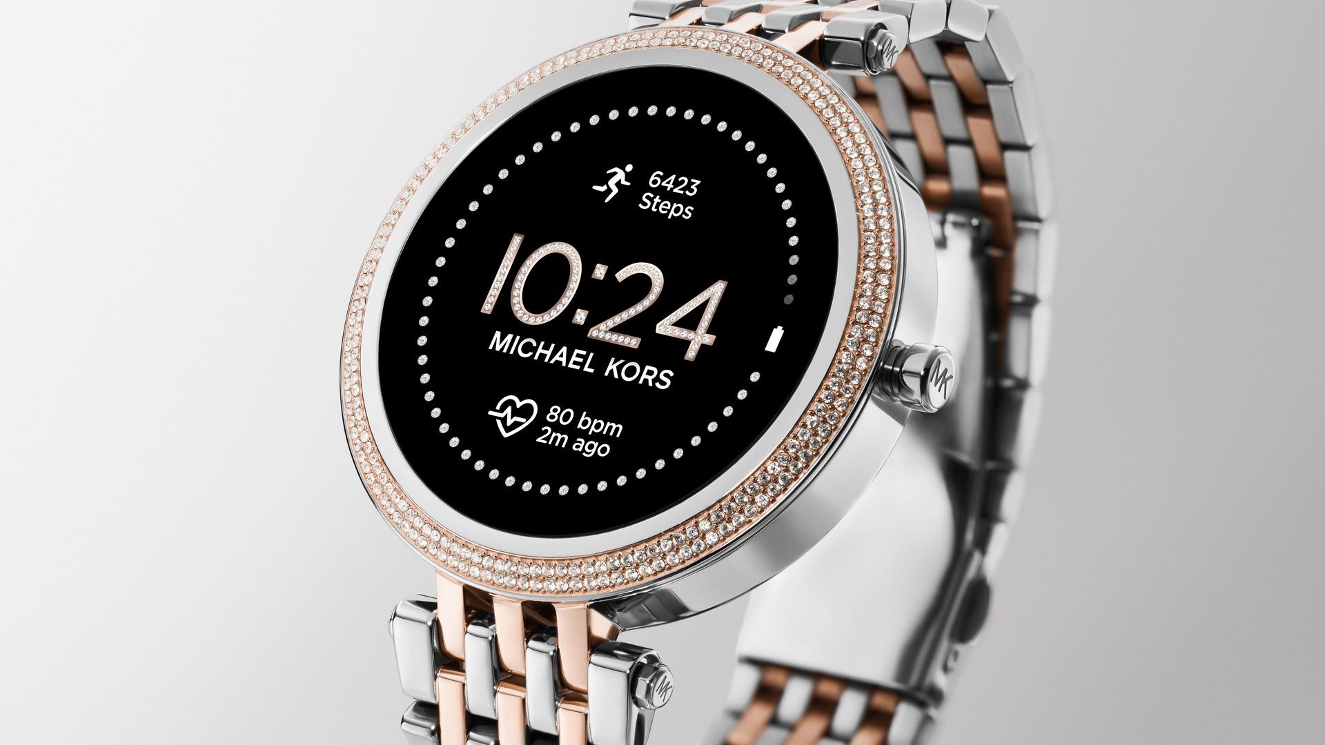 michael kors darci gen 5e smartwatch mkt5129
